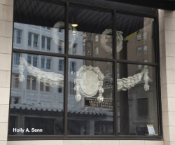 Re-Present installation by Holly A. Senn at 906 Broadway