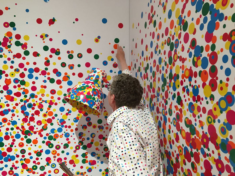 Adding dots to the The Oblitation Room
