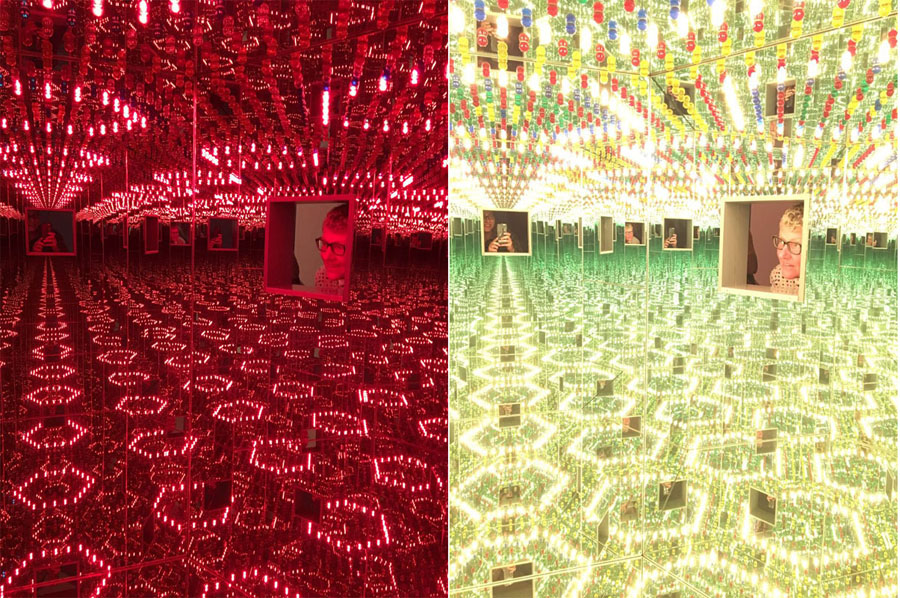 Infinity Mirrored Room—Love Forever 1966/1994